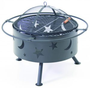 Moon and stars Firepit and Grill art.nr. FS-FPG-22-1